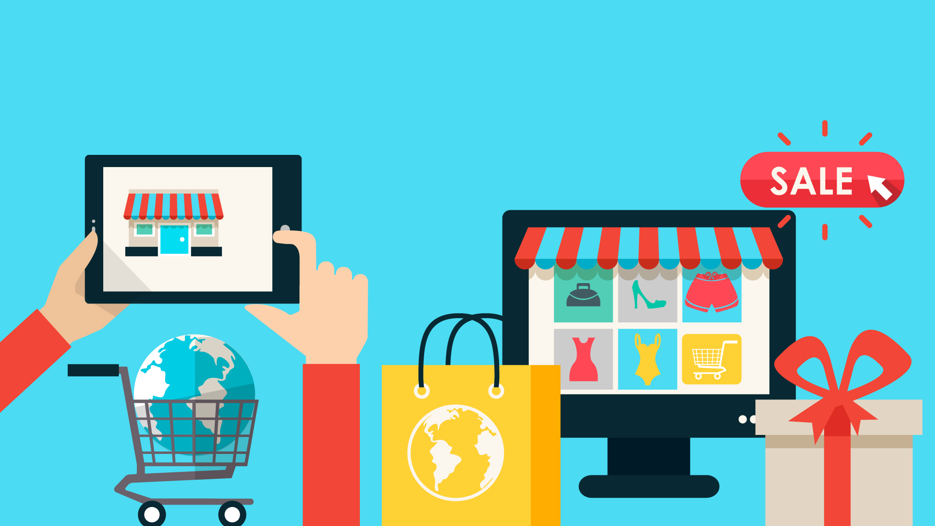 Sell products online with us
